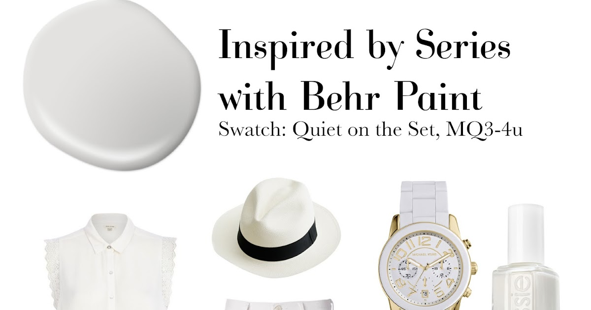 Inspired With Behr Quiet On The Set Suburban Faux Pas