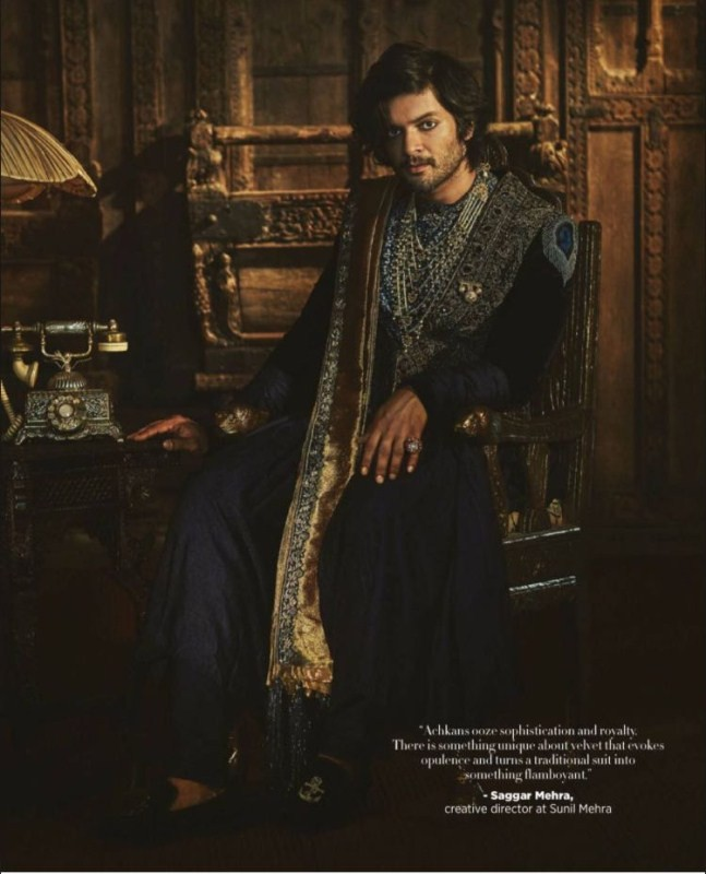 Ali Fazal Looks His Royal Best as He Graces Harpers Bazaar Men Magazine