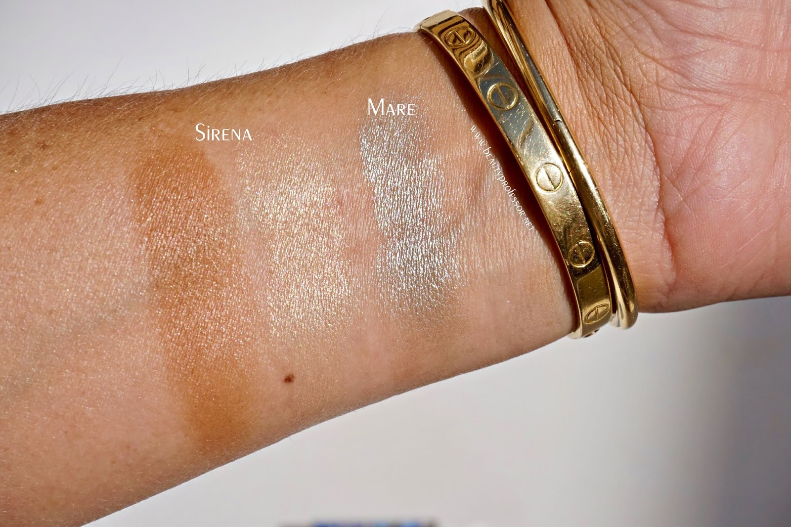 Chantecaille sirena bronzer swatches