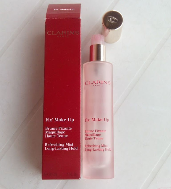 Spray fijador de maquillaje Fix make Up de Clarins