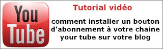 grace bailhache tutorial video abonnement chaine your tube blog