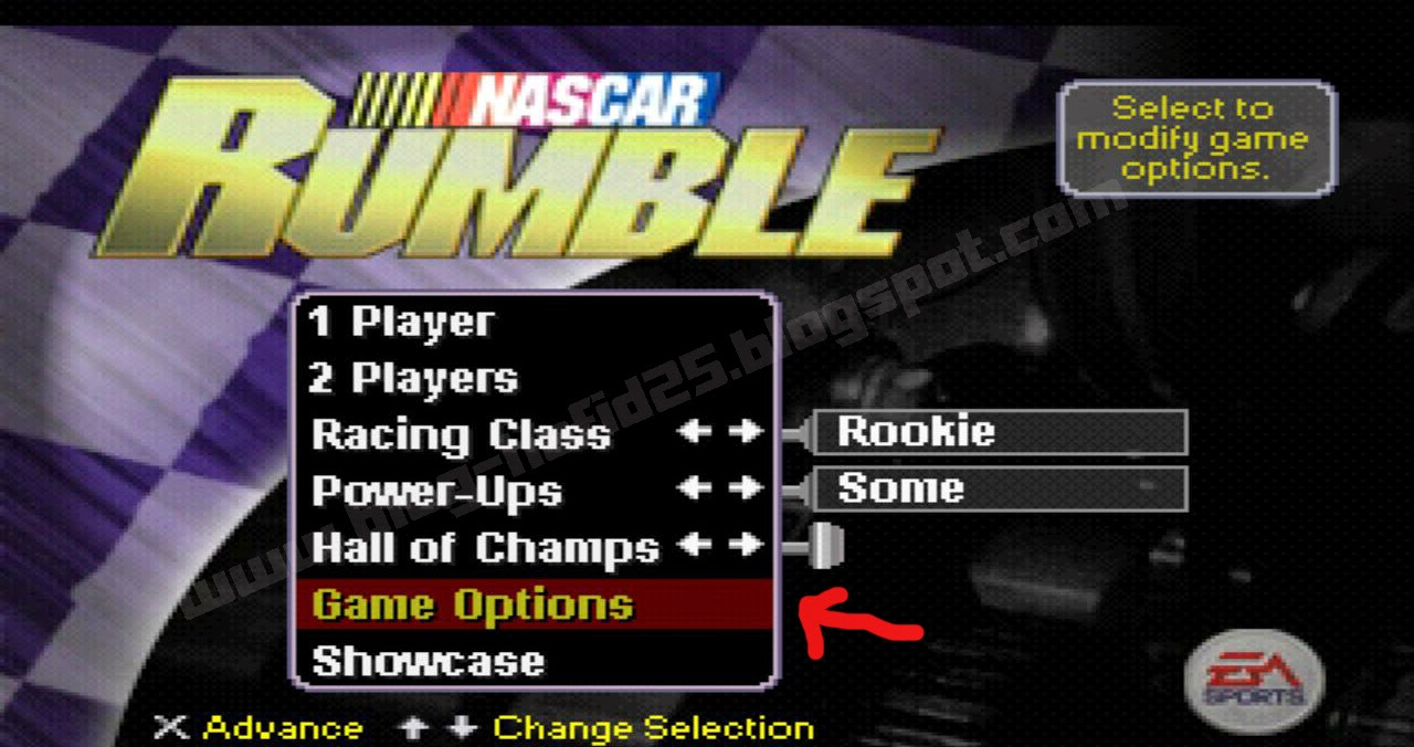 Kode Password Nascar Rumble PS1 Lengkap!!! - Blog-Hafid25: Tip/Trik Komputer, Download Games ...