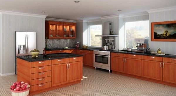 Dapur mewah besar