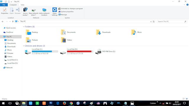 siapkan ruang partisi hardiskmu (minimal 30GB)