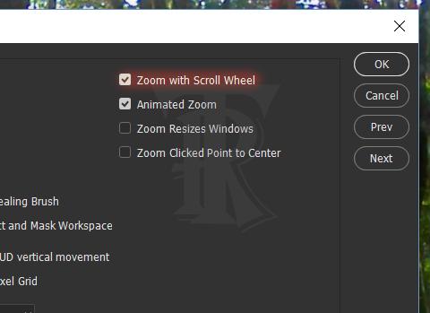 02 Cara menggunakan Scroll sebagai Zoom pada Photoshop - Topikramdani