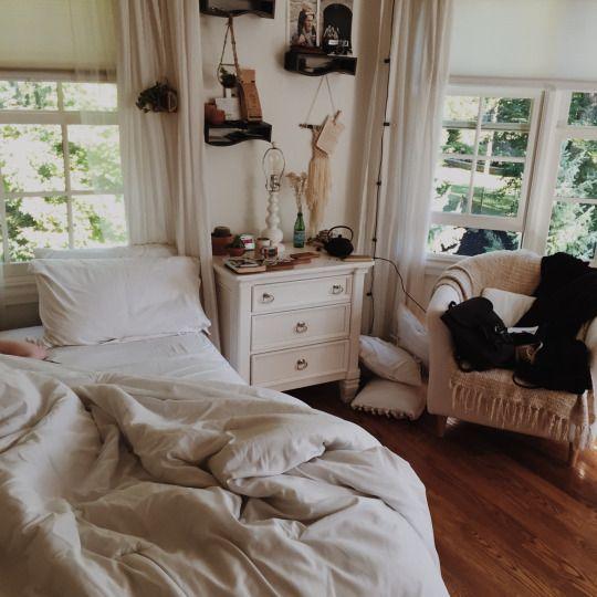 Moon to Moon Cozy White Warm Bohemian Bedrooms