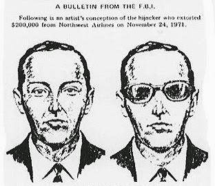 D.B. Cooper, crimes não solucionados, crimes sem solução