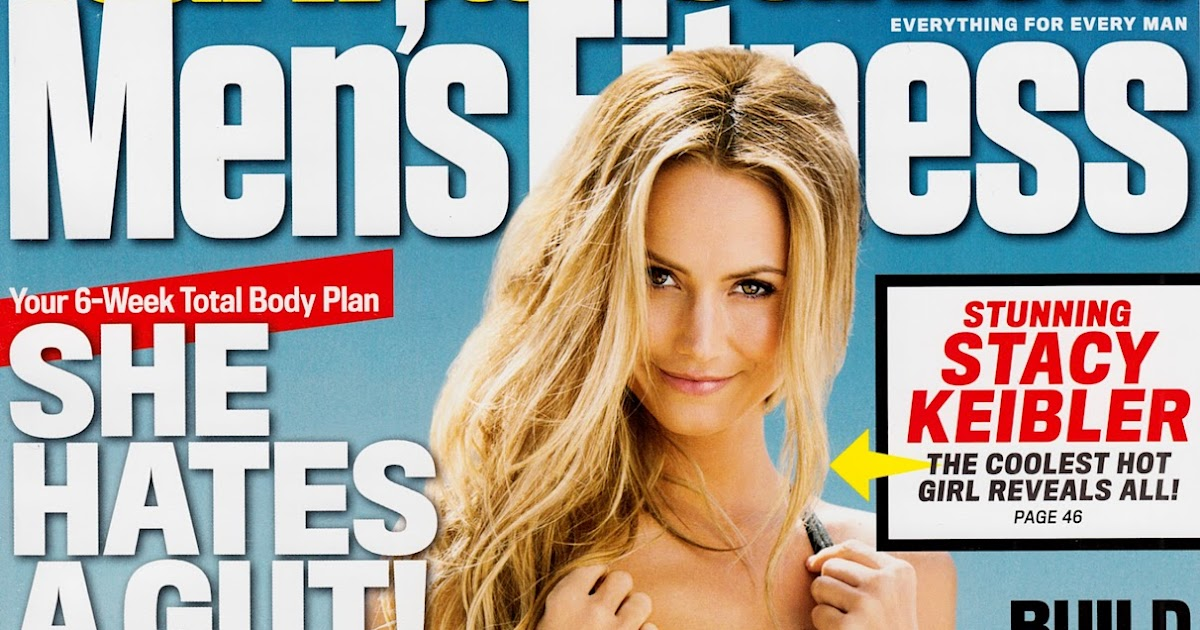 image Stacy keibler mens fitness photoshoot june 2012