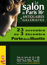 PARIS 16ème-PORTE DE LA MUETTE : CAPTON EXPOSE AU SALON DE PARIS XVI ANTIQUAIRES ET GALERISTES