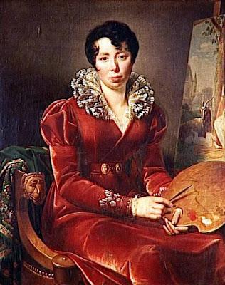 Autoportrait (1817), Henriette Lorimier