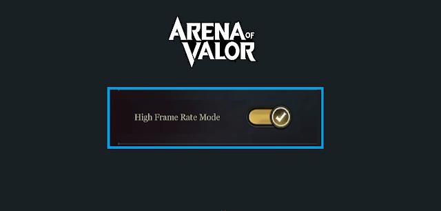 Terbaru ! Cara Setting FPS Cao Untuk Aktifkan High Frame AOV