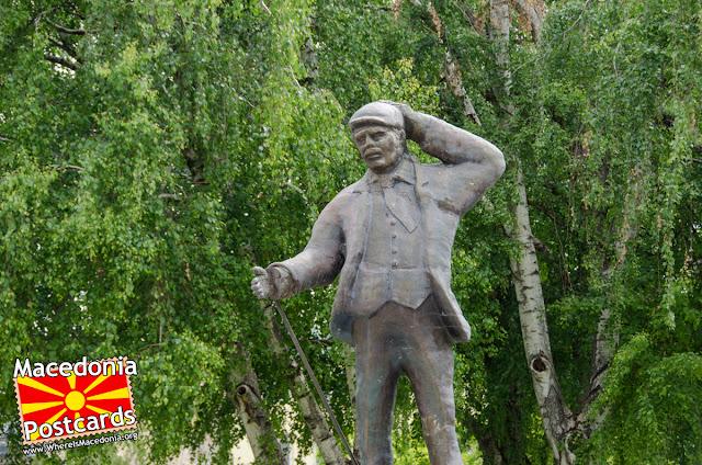 Batko Gjorgija (Батко Ѓорѓија) monument, Nova Jugoslavija Square, Kumanovo