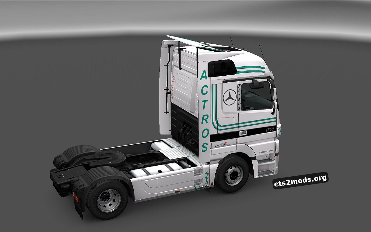 Actros MP3 Turkis Style Special Skin