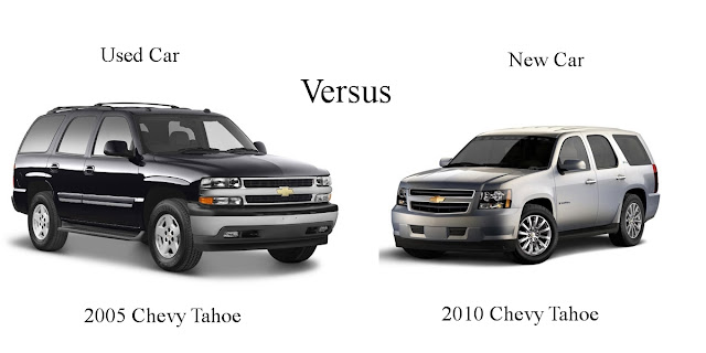 Used Cars for sale and thoughtless rants: Should I buy a new vehicle or go used