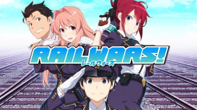 Rail Wars! BD Episode 01-12 BATCH Subtitle Indonesia