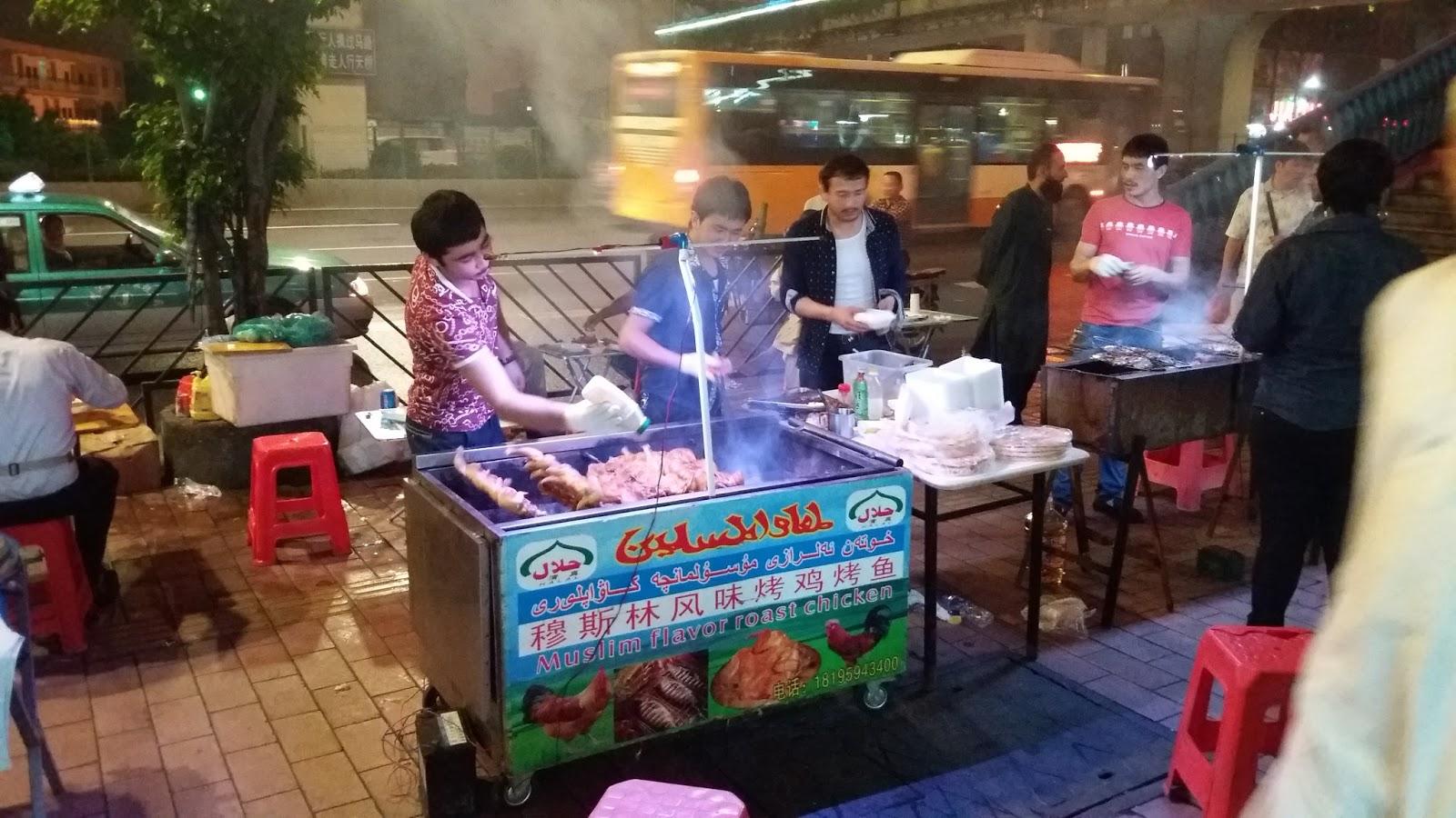 Local Food Market Near Guangzhou