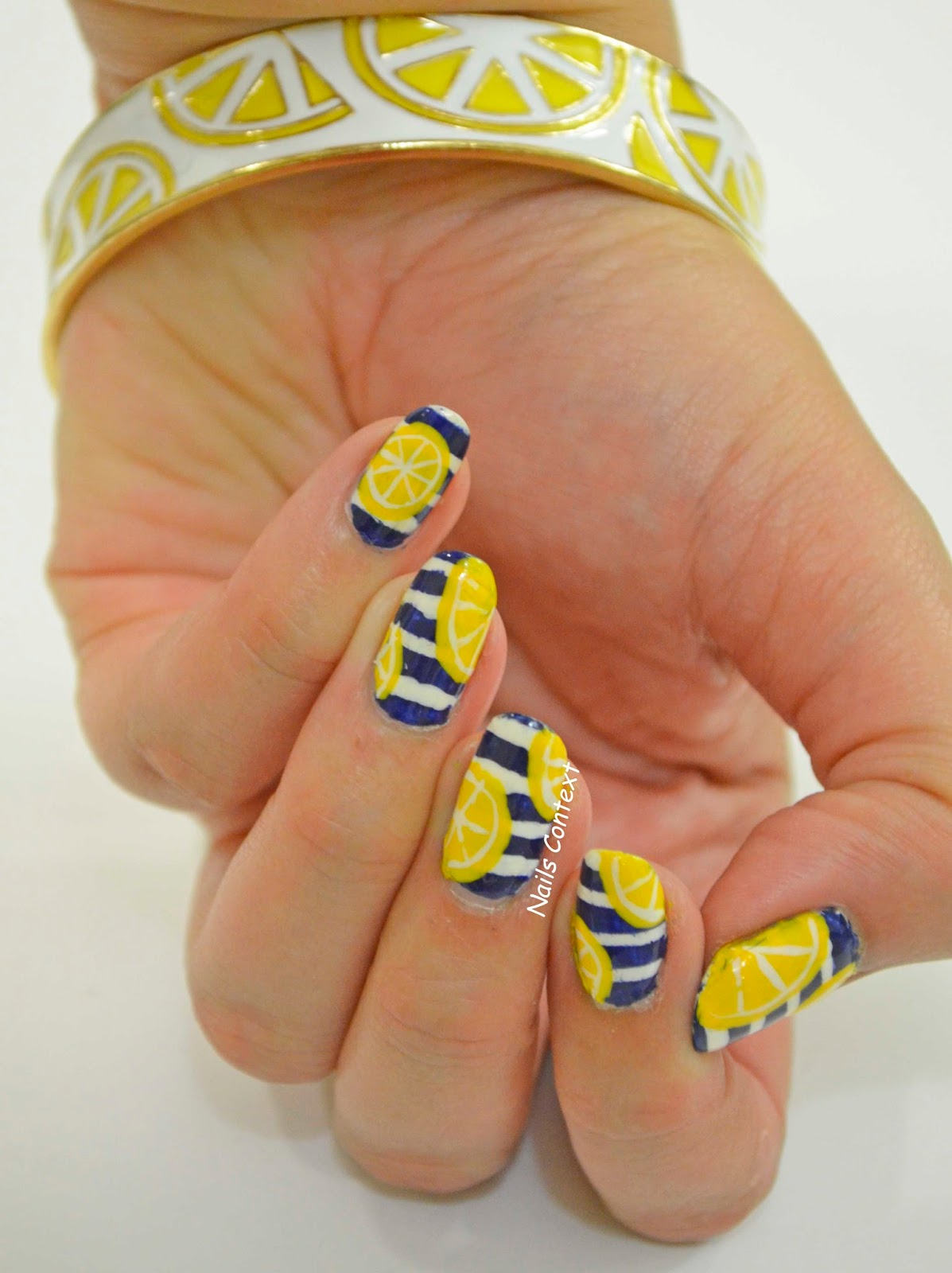 Nails Context: Limoncello