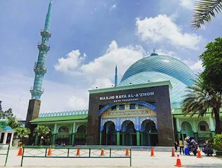 Dua (2) Tempat Wisata Religi Di Kota Tangerang Yang Populer