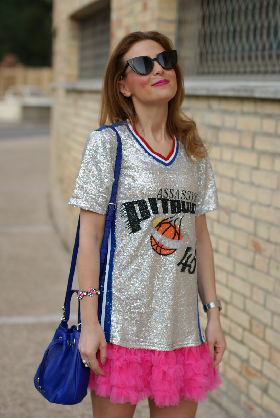 Sequin dress shaped as a basket tank su Fashion and Cookies fashion blog, fashion blogger