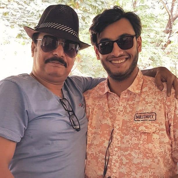 Rony Dasgupta with his father Sandeep Dasgupta