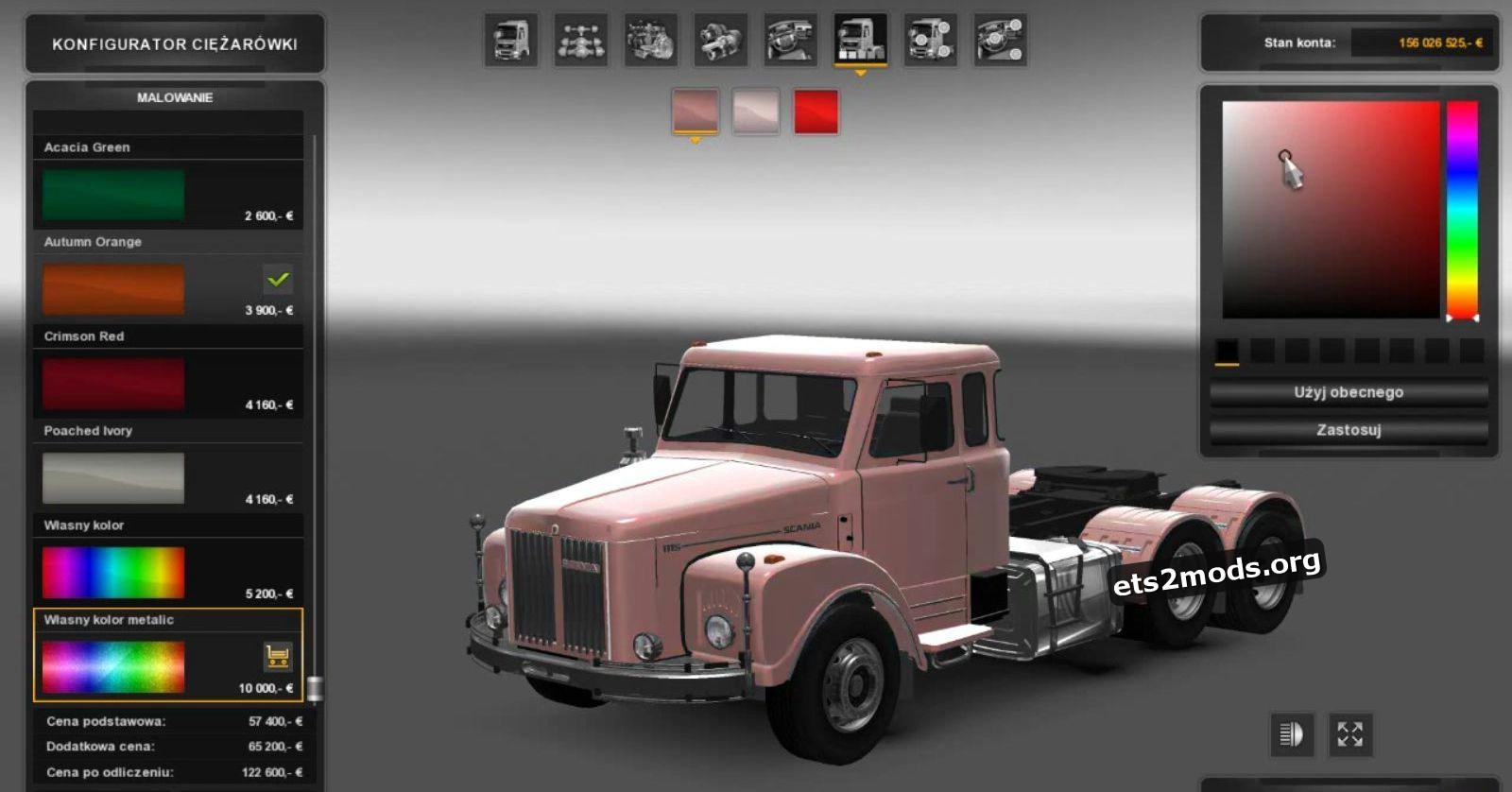 Scania 111 Super Truck