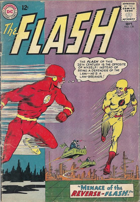 The Flash #139 (1963):  Carmine Infantino penciler  Joe Giella inker  John Broome writer  Julius Schwartz editor  Murphy Anderson inker Characters