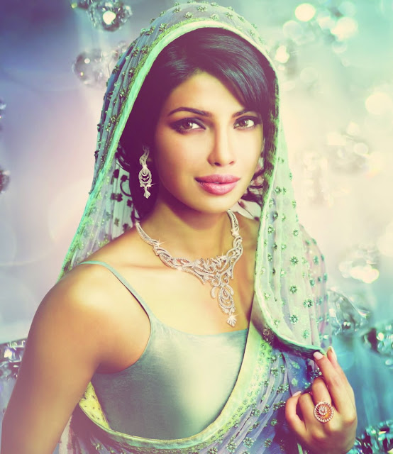 Priyanka Chopra in Bridal Jewellery