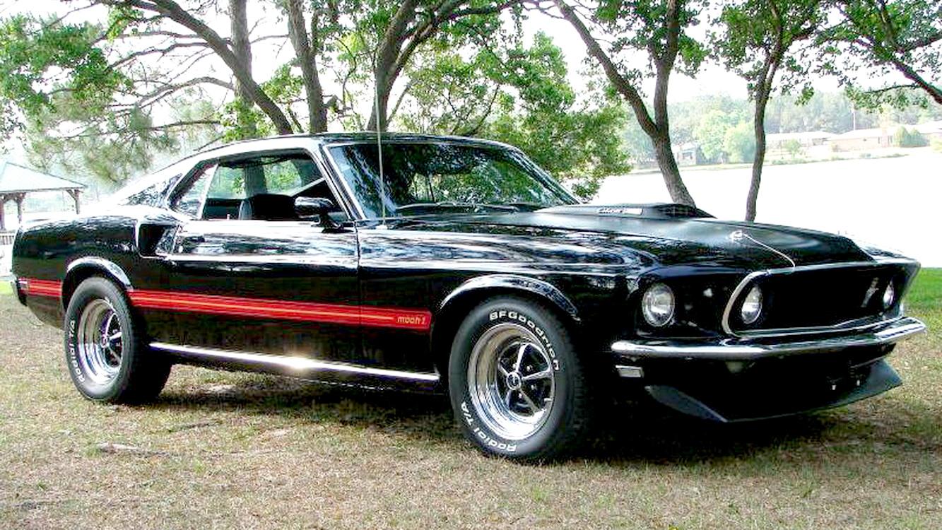 fastest ford mustang part 5 1969 mach 1 cobra jet. Black Bedroom Furniture Sets. Home Design Ideas