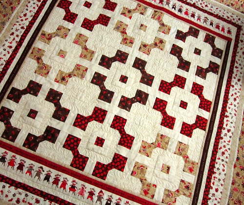 Monkey Around Quilt Free Pattern