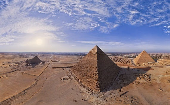 Pyramids of Giza in Egypt Virtual Tour