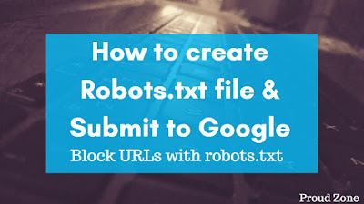 How to Create Robots.txt file & Submit to Google