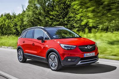 """""""Best in Class 2017"""" το Opel Crossland"""