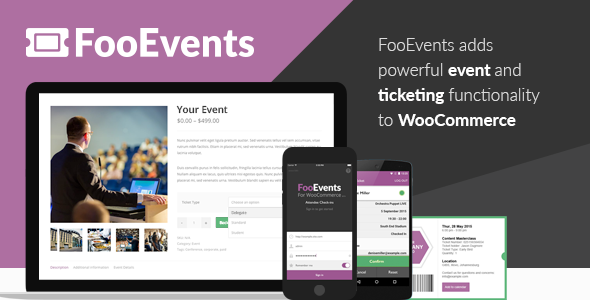 FooEvents for WooCommerce v1.8.1