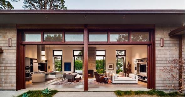 Fachadas casas modernas ver modelos de casas por dentro - Casas de campo por dentro ...
