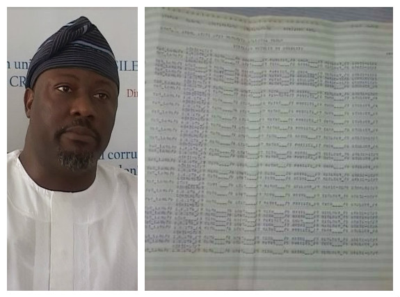SaharaReporters Says Dino Melaye had only 3 credit in his WASC results - (photos)