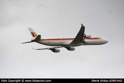 Airbus A340 Jacinto Benavente