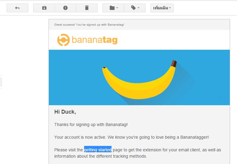 เราจะรู้ได้ไงว่าผู้รับเปิดอ่านอีเมล์เราแล้ว ? ด้วย Bananatag