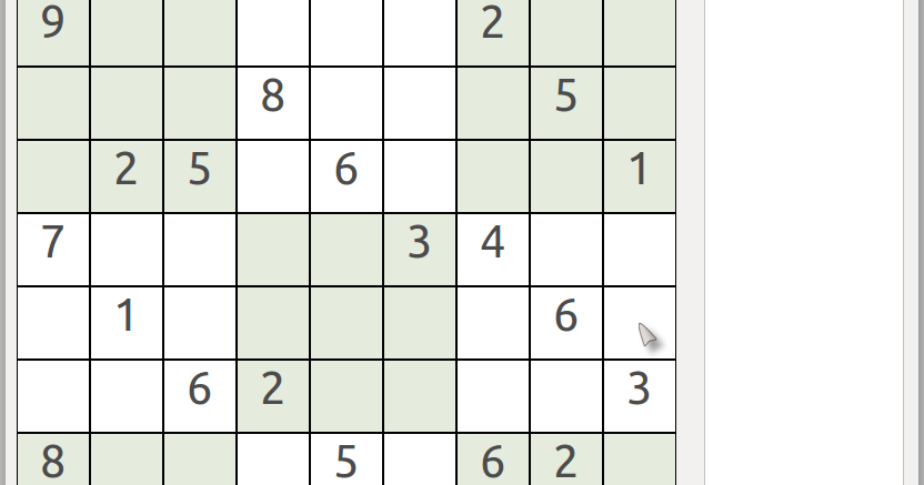 My Blog: Sudoku Solver with GUI written in python (Part 1 of 4)