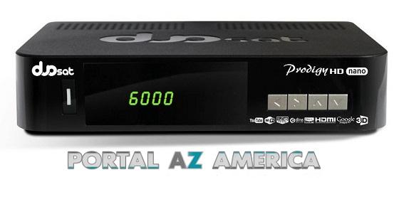 Resultado de imagem para DUOSAT PRODIGY NANO HD portal azamerica