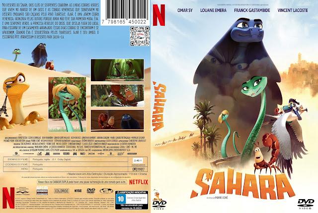 Capa DVD Sahara [Custom]