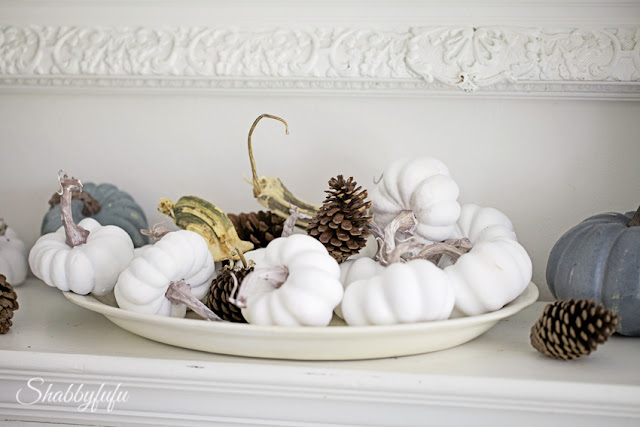 chalk paint pumpkins tutorial