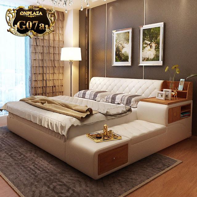 Mẫu giường ngủ hiện đại G30