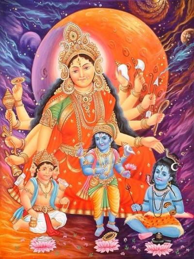 Hindu Goddess diti ma image