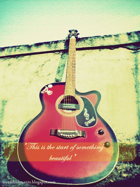 my guitar, i love my guitar, red guitar, red black guitar, grason guitar