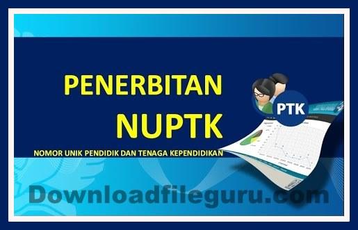 Aplikasi Cetak Kartu NUPTK 2018/2019
