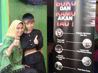 Nia Kurniatin Kepada Dispusipda Kota Bandung
