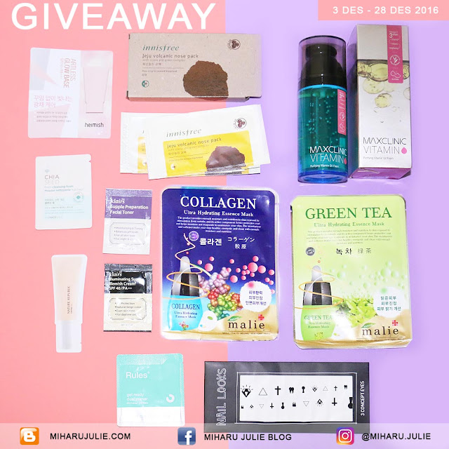 K-Beauty Makeup Giveaway