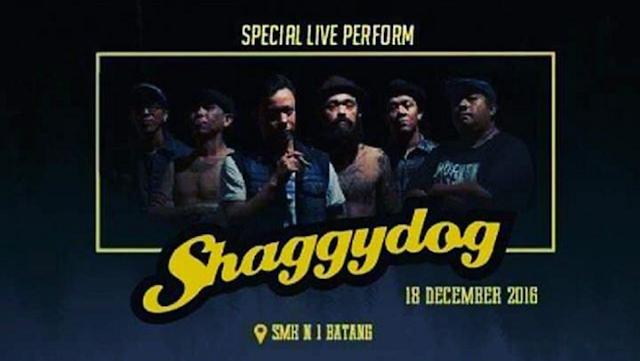 "Event Batang | 18 Desember 2016 | Dies Natalis SMK N 1 Batang ""Special Performance Shaggydog"""