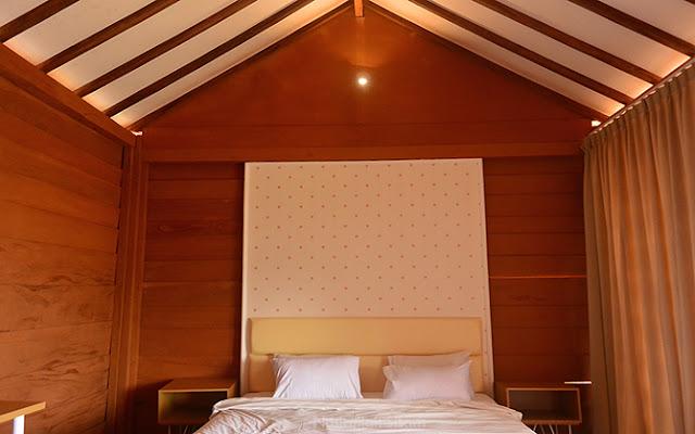 Kamar di salah satu Bungalow Batoer Hill