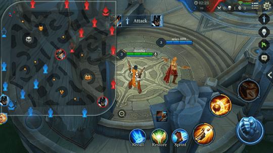 cara mudah menang battel dalam game garena mobile arena aov